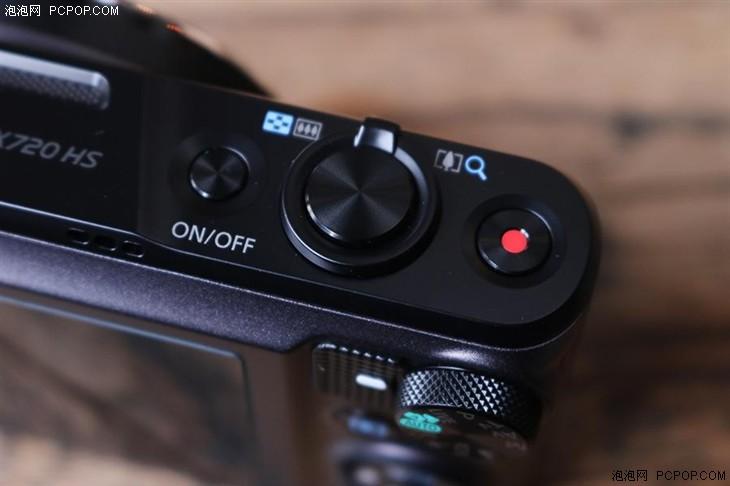 40X光变便携长焦机 佳能SX720 HS评测