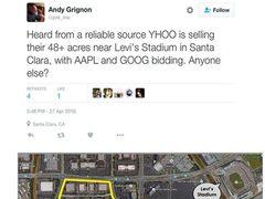 曝苹果谷歌欲买雅虎 互联网巨头就此没落