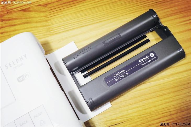 贴纸相纸更有趣 佳能炫飞CP1200试用