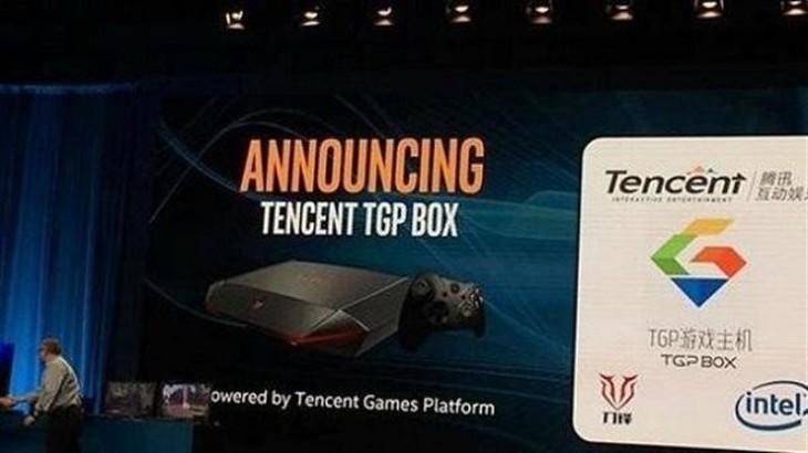 腾讯携手英特尔/海尔发布Win10/TGP游戏机