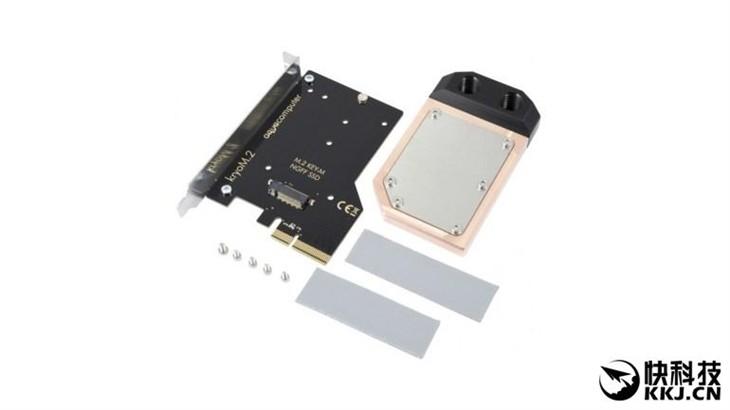 凶残!M.2 SSD竟用上散热器:还是水冷