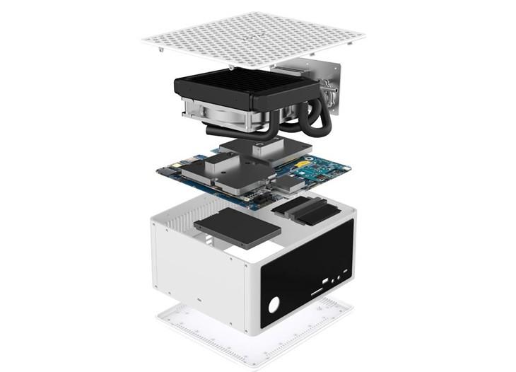 GTX980液冷PC,索泰ZBOX EN980发布!
