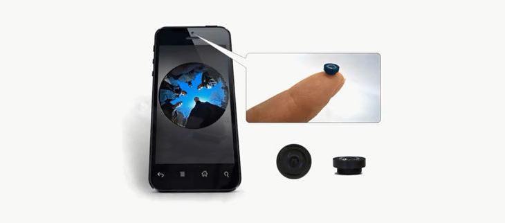 广达推出基于智能手机的全景摄像头!