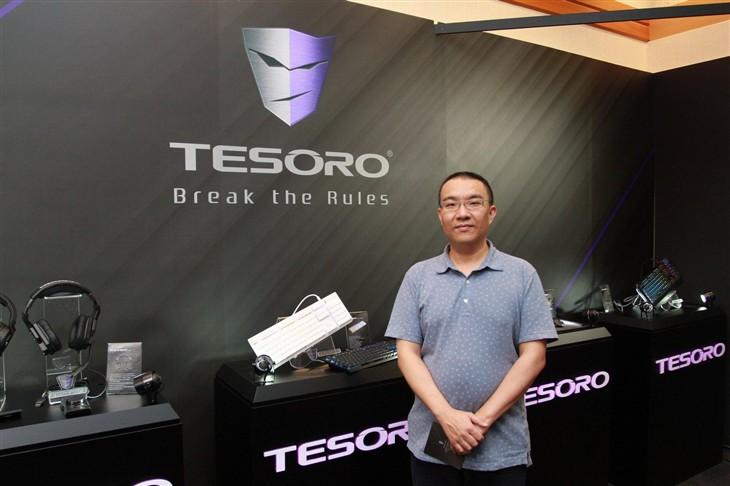 台北电脑展2016 铁修罗酷炫外设亮相