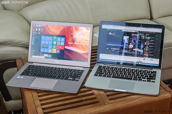 谁更胜一筹?华硕U3000对比MacBook Pro