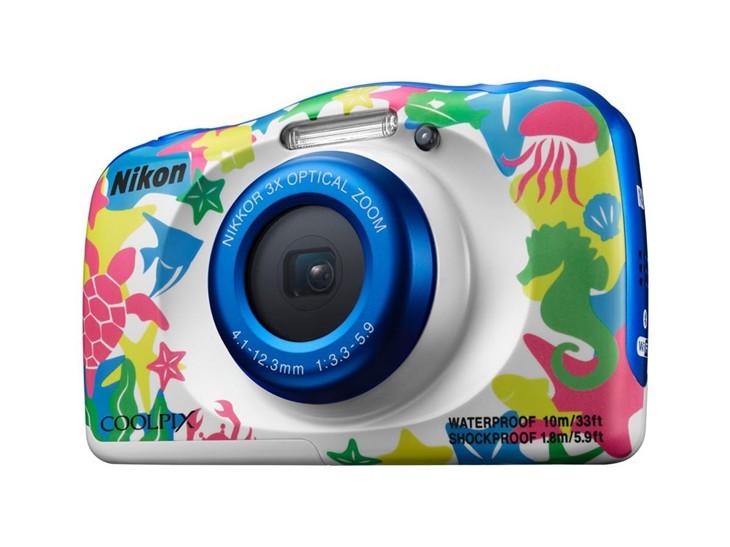 儿童专属 尼康发布coolpix w100数码相机
