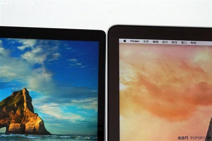 小米笔记本Air对比苹果MBP