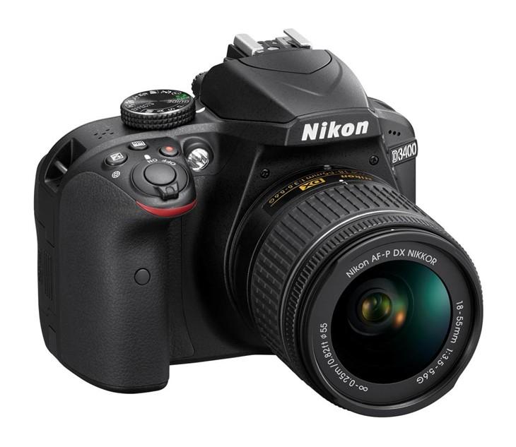尼康发布入门级dx格式数码单反相机d3400图片
