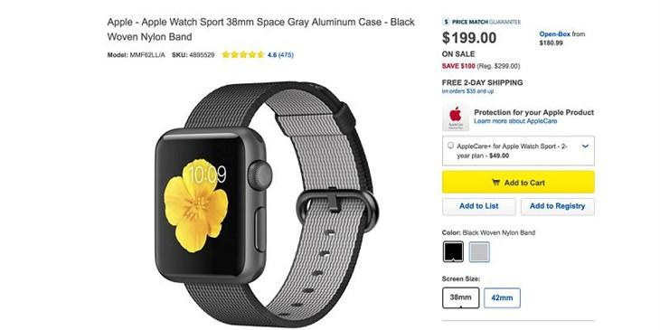 二代要来?经销商下调Apple Watch售价