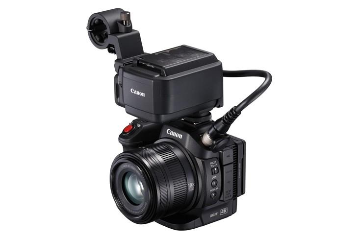 佳能推出紧凑型专业4K数码摄像机XC15