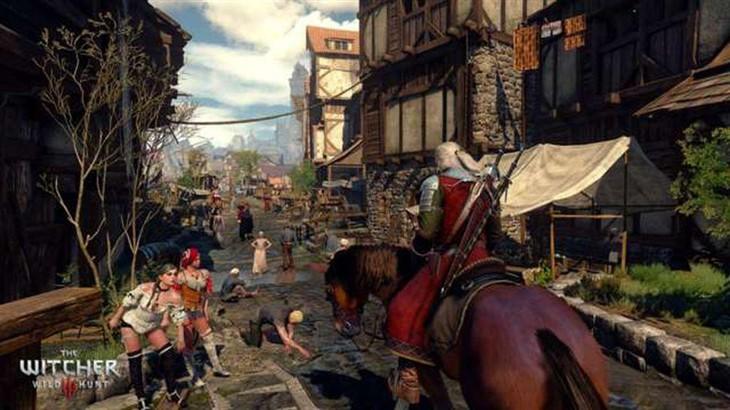 《巫师3:狂猎》:不推4K的PS4 PRO增强版