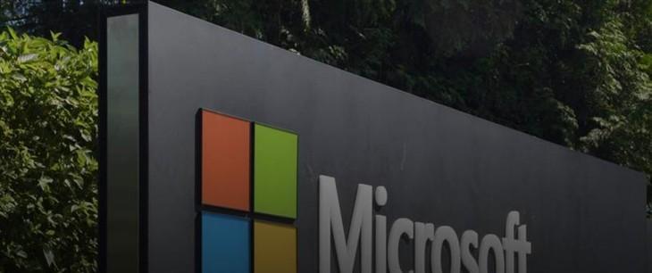 微软2018年可再生能源使用率达到50%