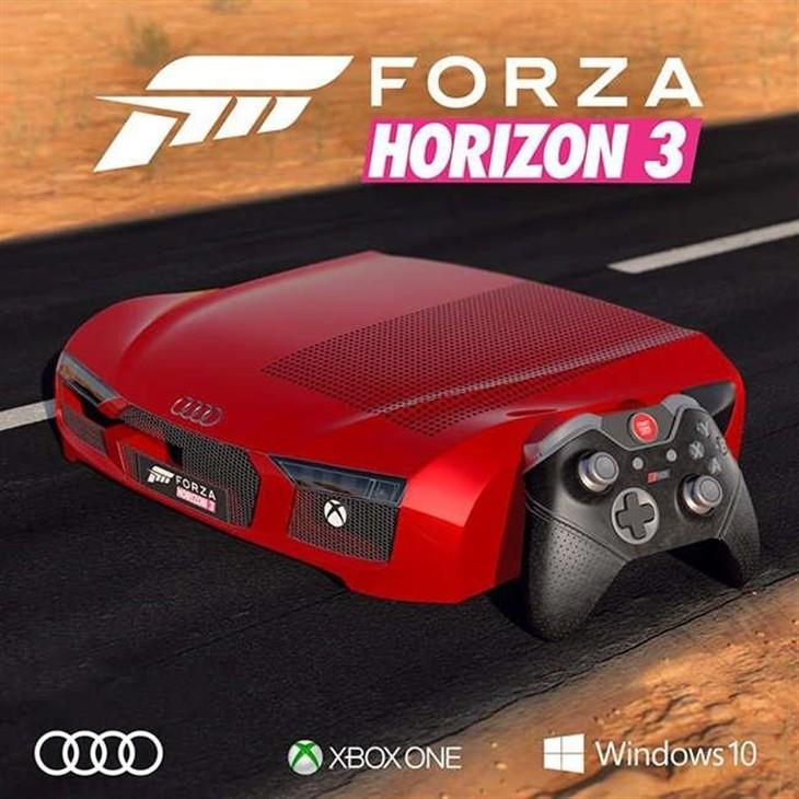 微软推跑车版Xbox One:全球仅三台