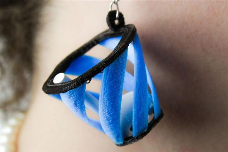 一款帮你接住滑落的AirPods3D打印耳环