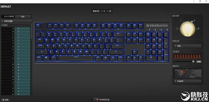青轴加持 赛睿新APEX M500机械键盘发布