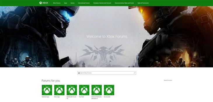 微软Xbox论坛改版:带来新设计、新分类