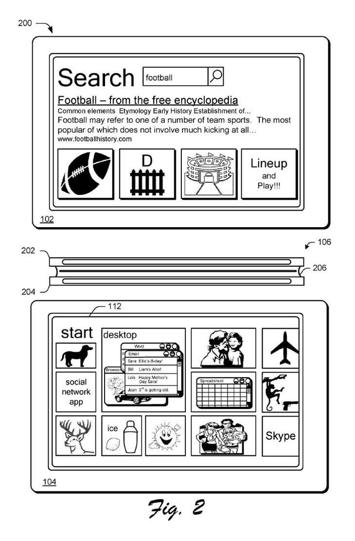 磁性铰链连接两台Surface当扩展屏幕使用