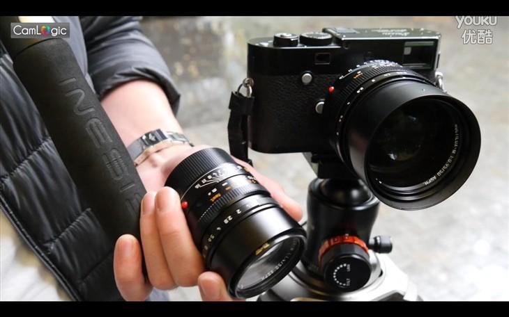 相机逻辑:紫色灵魂的徕卡50mm F0.95镜头