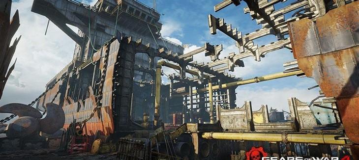 《战争机器4》新DLC预告 每月会有新地图
