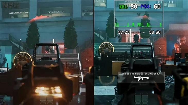 《使命召唤13》帧数对比:PS4全程吊打