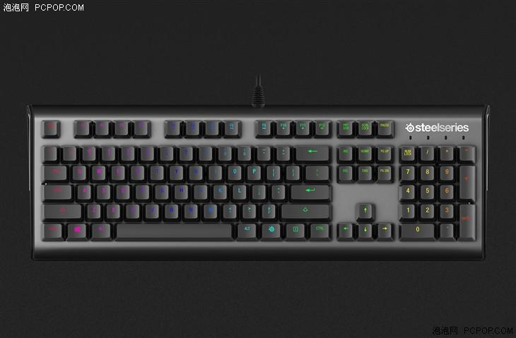 赛睿APEX M650电竞专用机械键盘首发