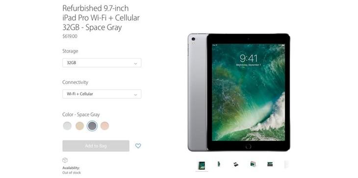 iPad Pro 9.7官翻版开卖 只要789美元