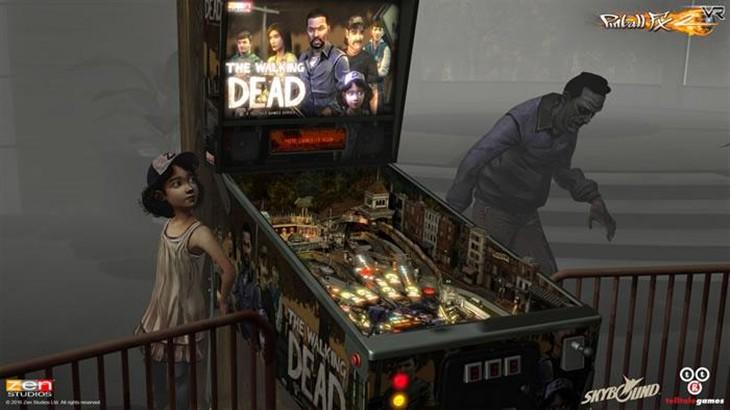 《三维弹球FX2》行尸走肉DLC 支持VR