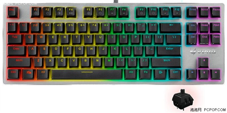 年轻人的第一把机械键盘V500合金版评测