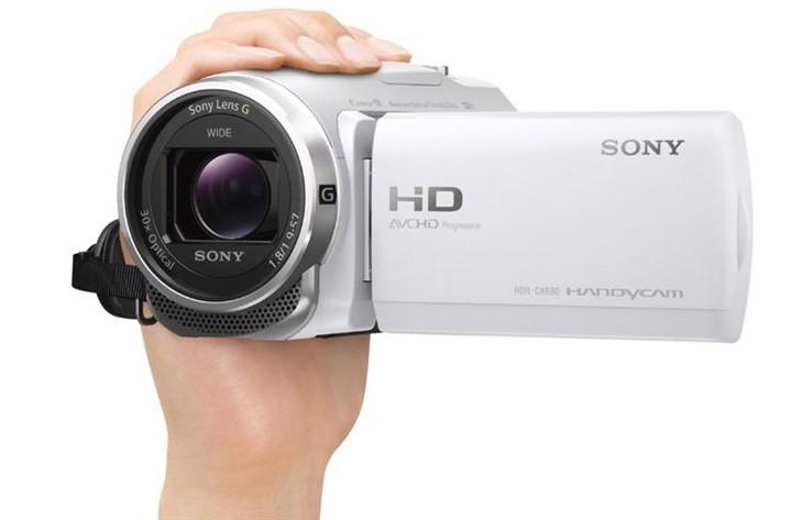 5轴防抖!索尼发布HDR-CX680高清摄影机