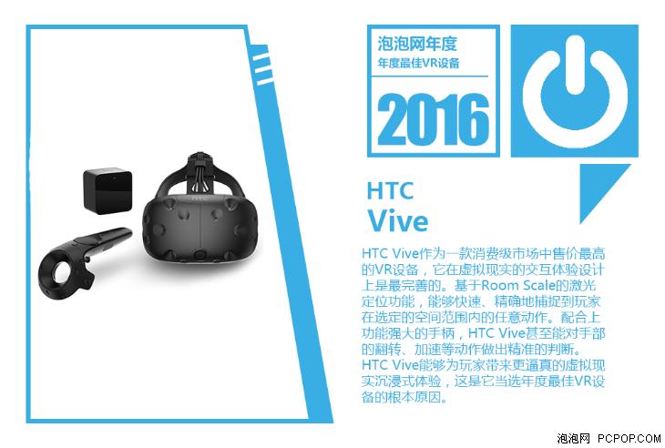 依然不是爆发的元年 2016年VR设备评奖