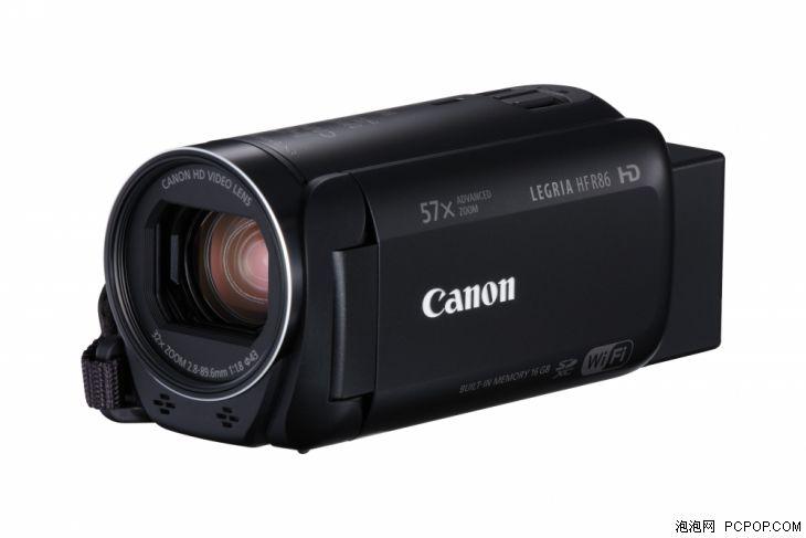 佳能发布LEGRIA HF R86/R806摄像机新品