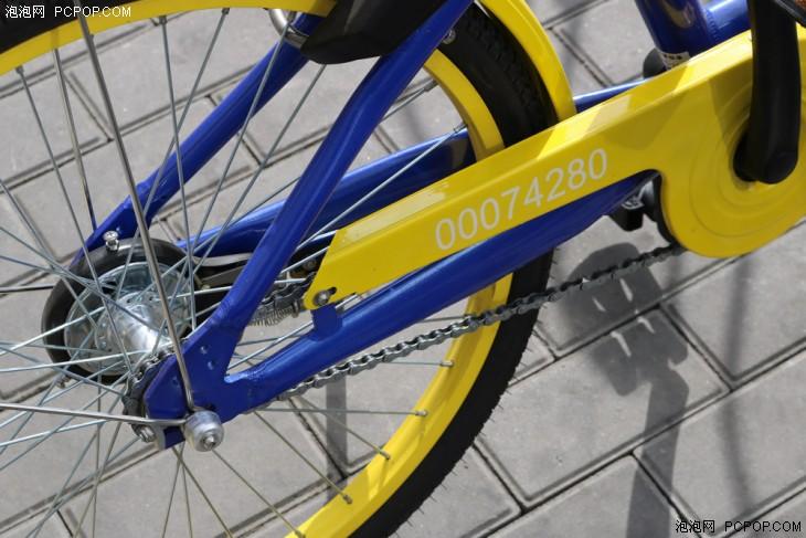 链条传动方式-不用押金也能骑 永安行共享单车体验图片