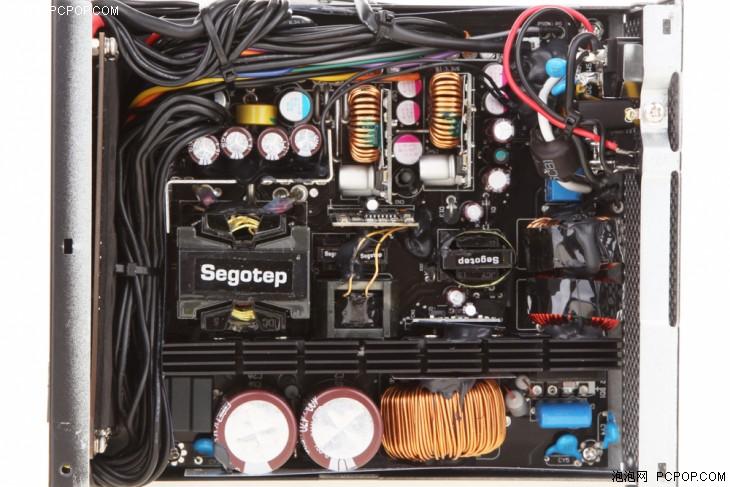 机箱电源 评测 正文      主动式pfc驱动电路,llc谐振转换电路以及dc