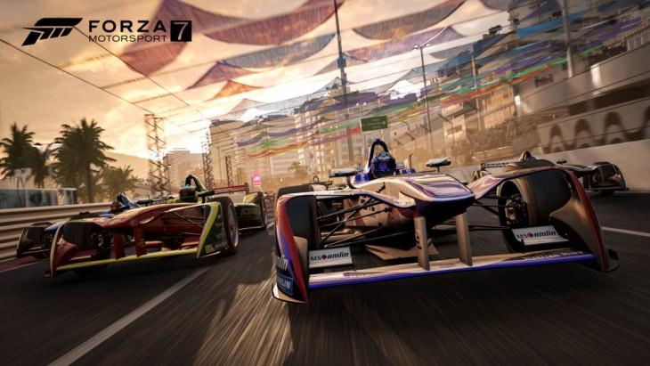 赛车游戏巅峰之作!《极限竞速7》游戏性能实测