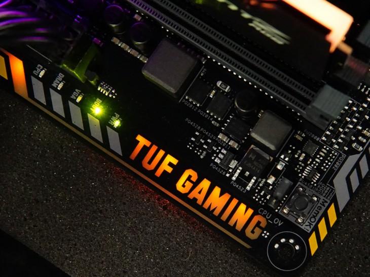 硬朗的军规风格!华硕tuf z370-pro gaming评测