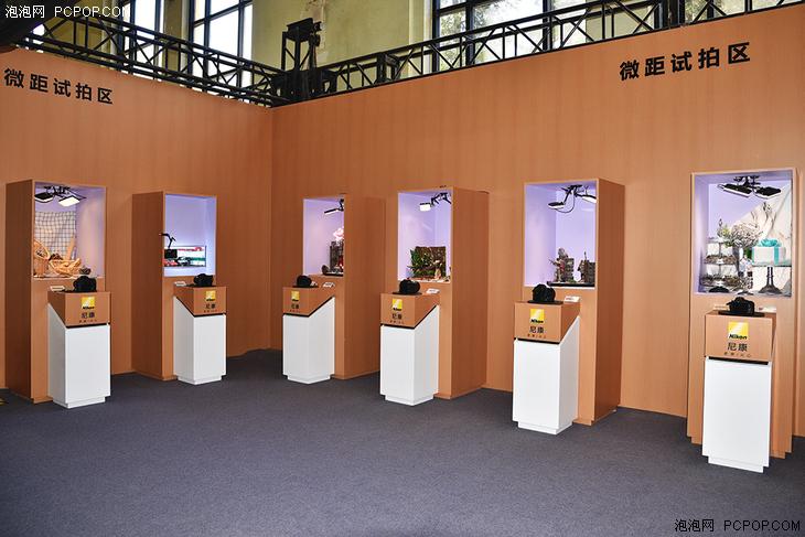 PE2018尼康展台:展区面积最大集合丰富试拍体验