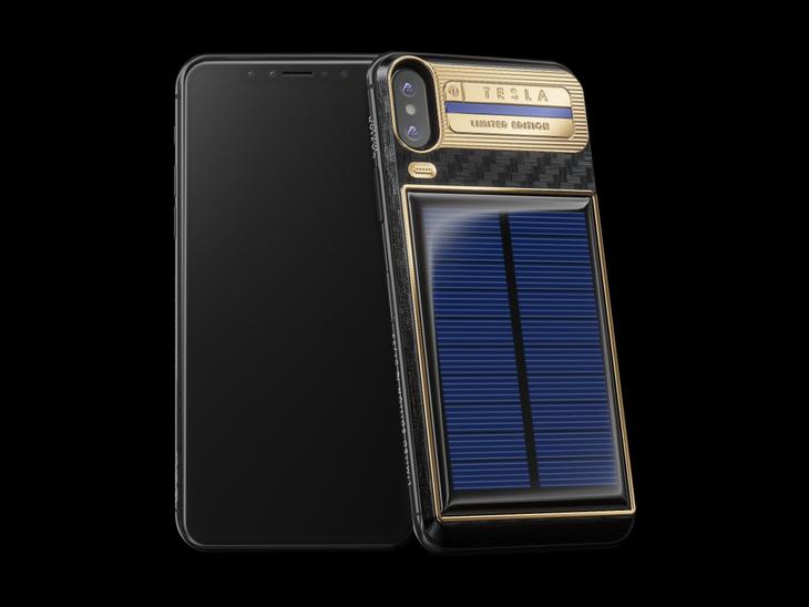 售价2.5万人民币 太阳能iPhone X手机壳亮相