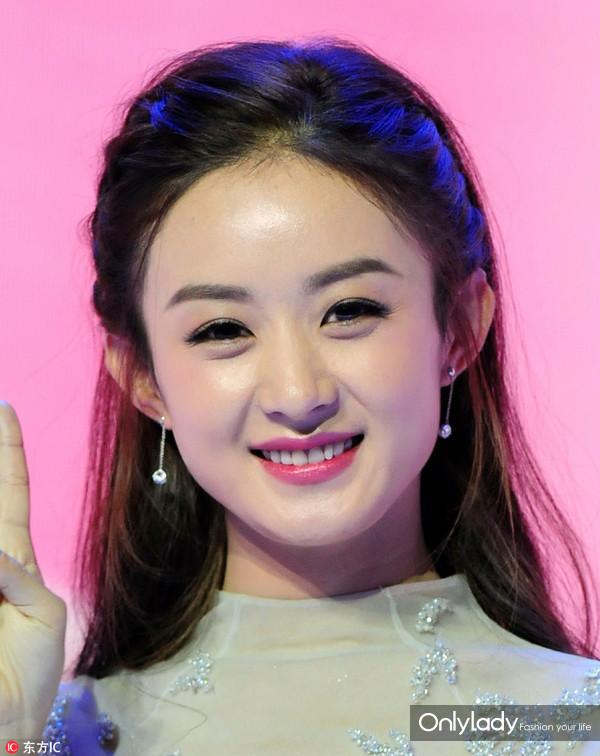 赵丽颖这个发型就是你们记忆中童话公主的样子吧?图片