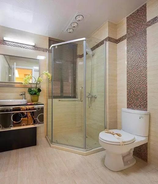 50款小户型卫生间装修效果图 总有一款是你家的!