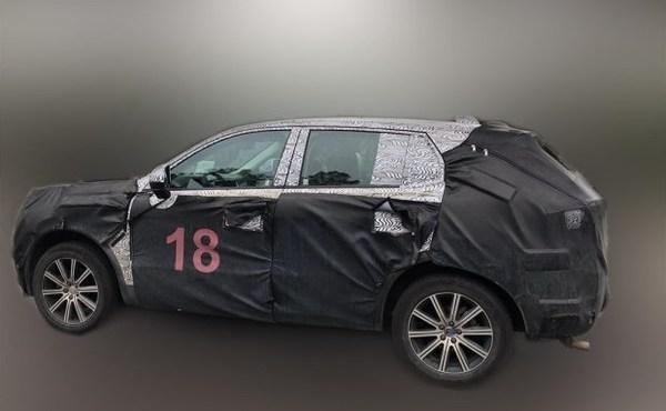 吉利高端品牌小SUV谍照 挑战大众预计售价13万元起高清图片