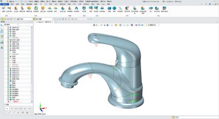 如下图的这个饮水机,是由水槽,水龙头,面板,内部支撑结构,过滤加热
