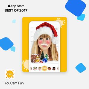 「玩美Fun」荣获2017年度Apple精选App