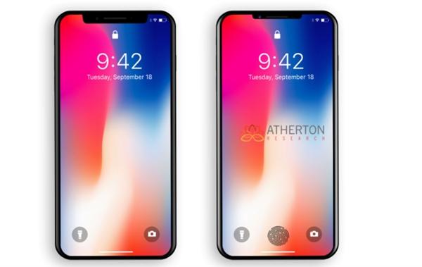 一下发三款!新款iPhone X曝光:刘海缩小 全面屏更棒