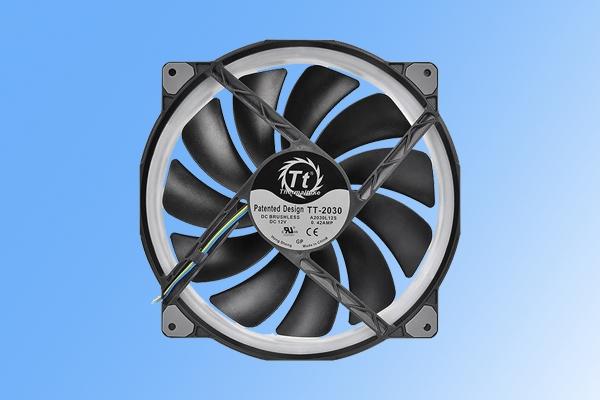 1670万色RGB!曜越新款PC风扇发布:直径高达200毫米