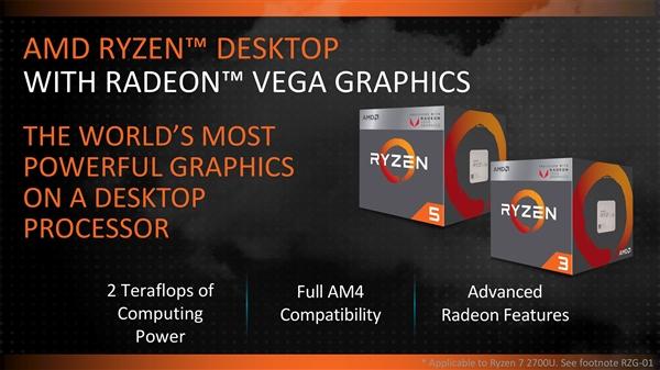 AMD为8代锐龙APU用户免费送亮机CPU:方便部署BIOS