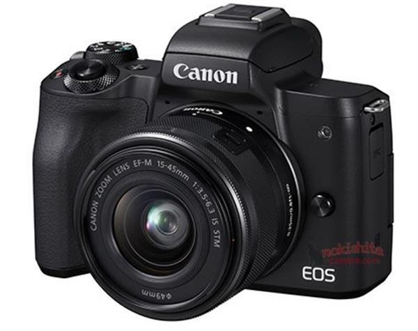 支持4K拍摄 佳能全新微单EOS M50曝光