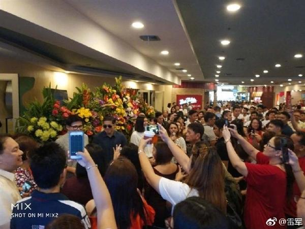 菲律宾第一家小米授权店开业:场面火爆