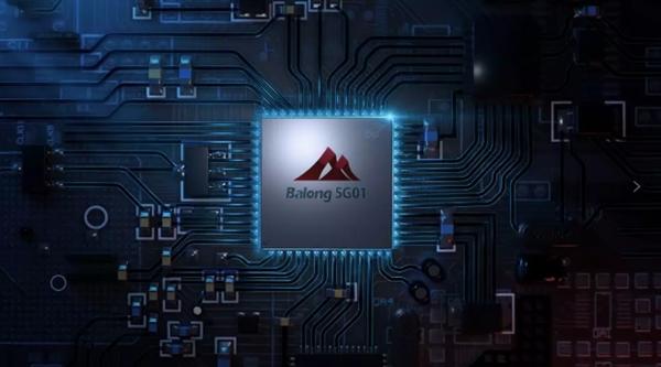 华为全球首发5G商用芯片巴龙5G01:峰值速度2.3Gbps