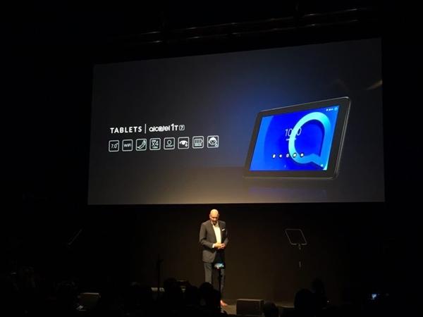 阿尔卡特发布两款平板:1GB+8GB存储 售价500元起