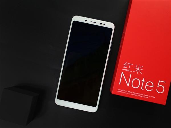 红米Note 5图赏:多彩配色颜值不俗